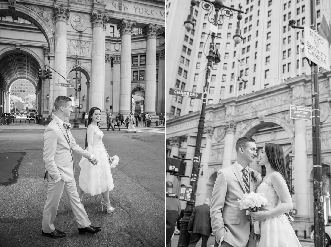 New york city hall wedding jaylim studio for City hall wedding dresses nyc