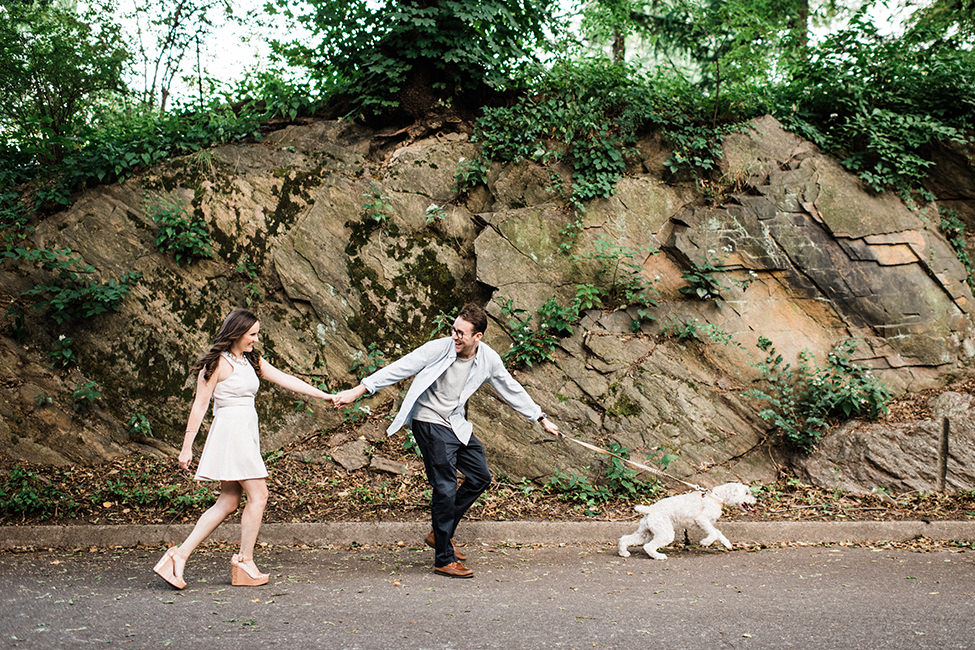 Bring your dog for your engagement photos!